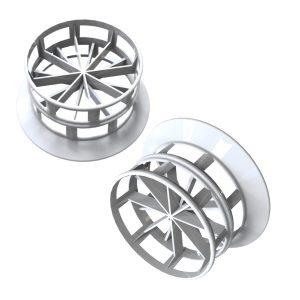 plastic cascade rings